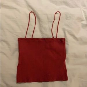 red tank top!